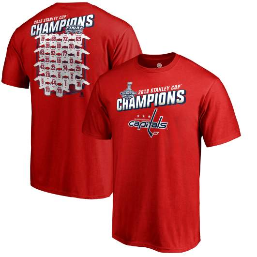 capitals stanley cup champions shirts