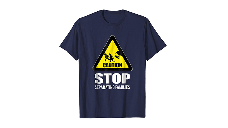 Caution Stop Separating Families protest shirt