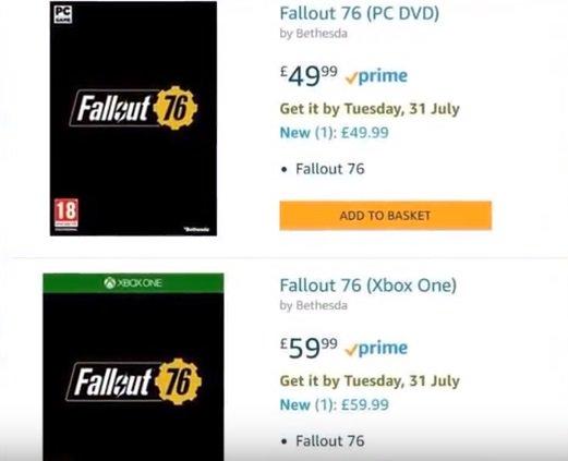 Fallout Vault 76