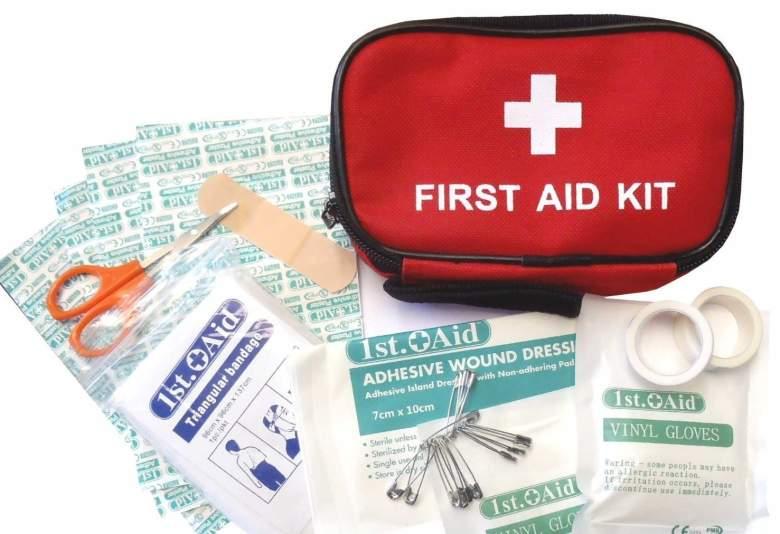 first aid kit list