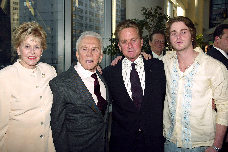 Kirk Douglas Son Michael, Kirk Douglas Ex Wife, Michael Douglas Mother