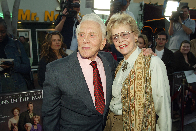 Kirk Douglas Wife, Kirk Douglas First Wife, Diana Douglas Webster