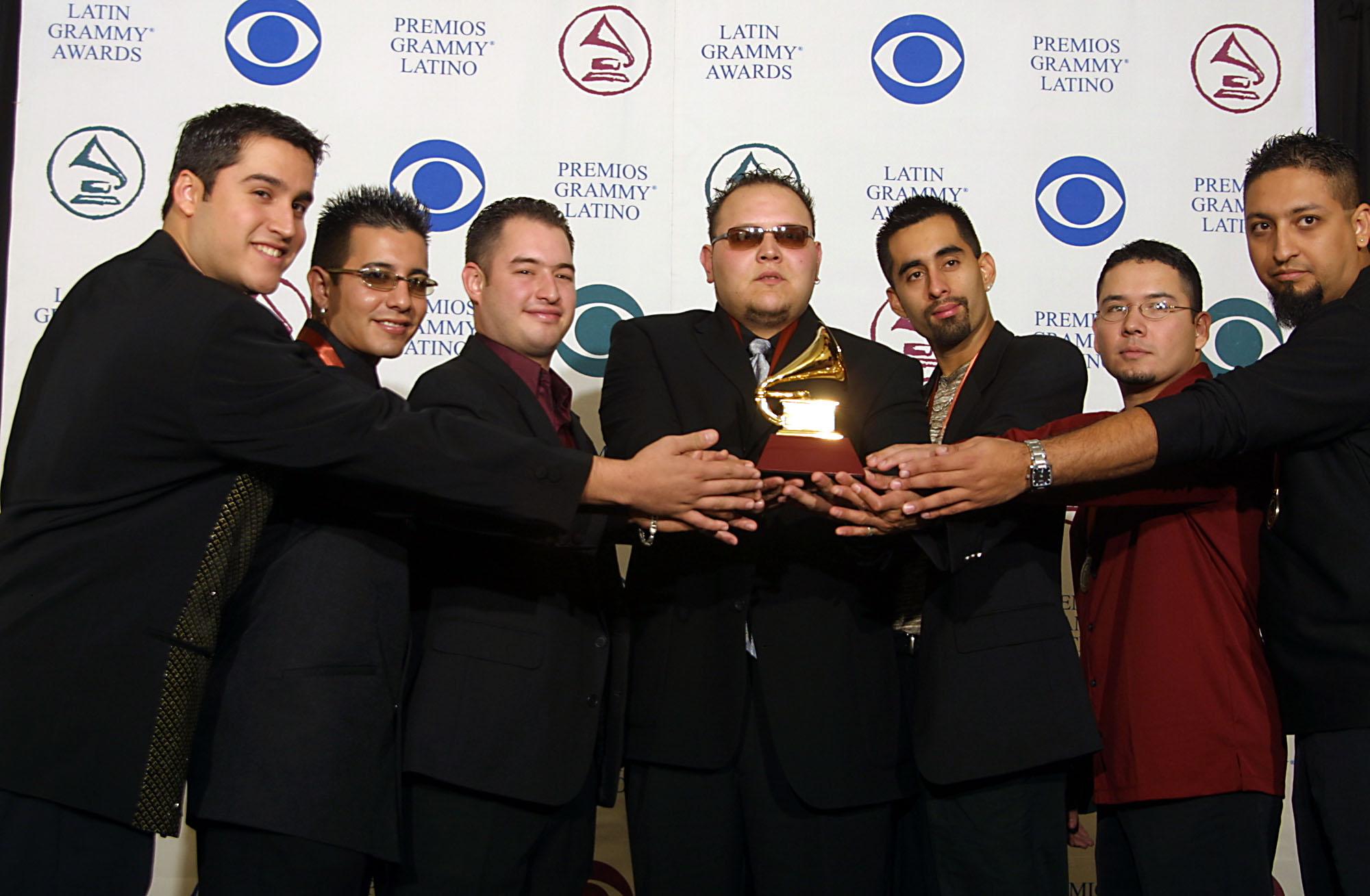Jimmy Gonzalez Grupo Mazz Latin Grammy