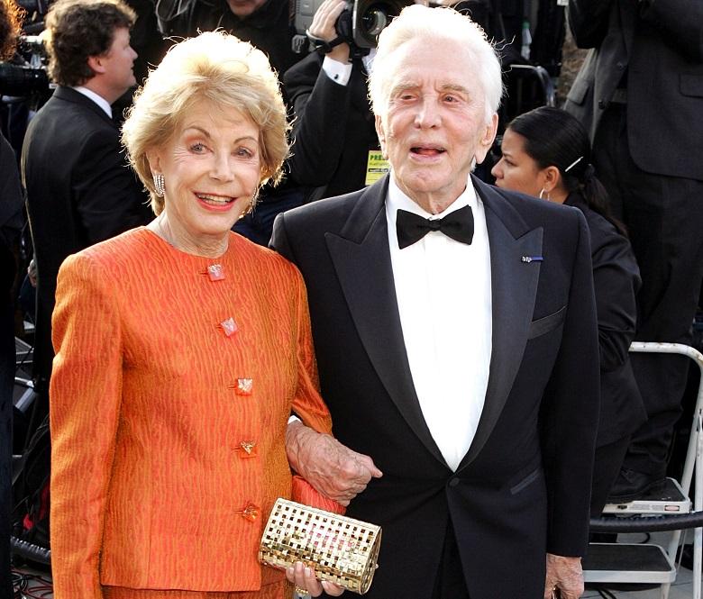 Kirk Douglas Wife, Anne Buydens
