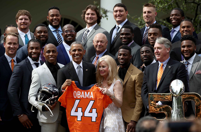 President Obama annabel bowlen
