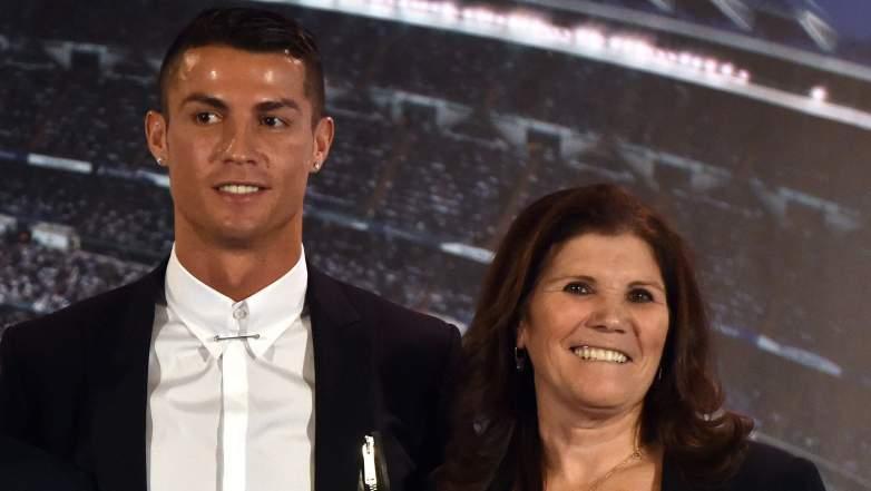 ronaldo mom family