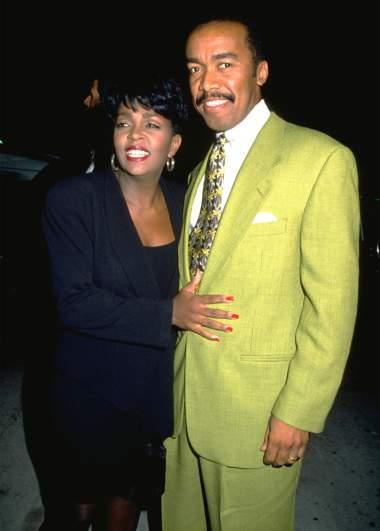 Anita Baker and her husband Walter Bridgeforth, Jr.