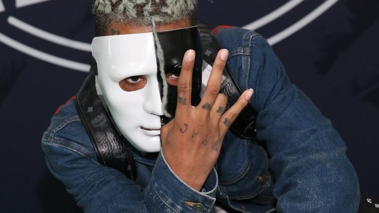 XXXTentacion attends the BET Hip Hop Awards 2017.