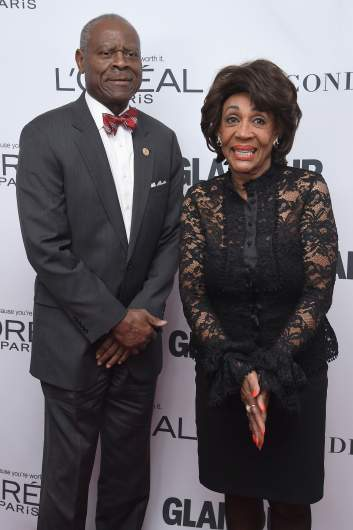 maxine waters with her husband