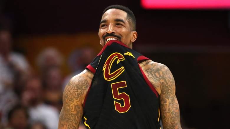 J.R. Smith Release Lakers Rockets Heat