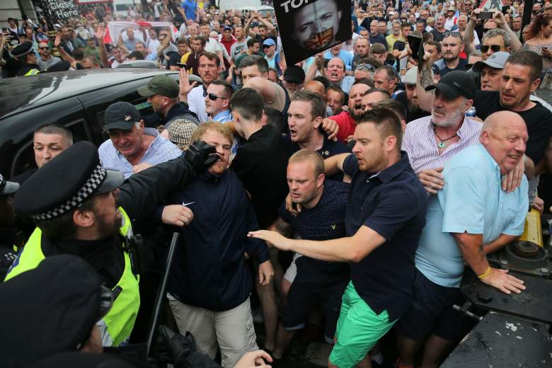 Tommy Robinson Protest