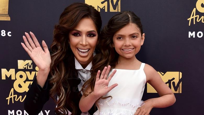Farrah Abraham MTV Movie Awards 2018, Farrah Abraham Daughter Sophia Today