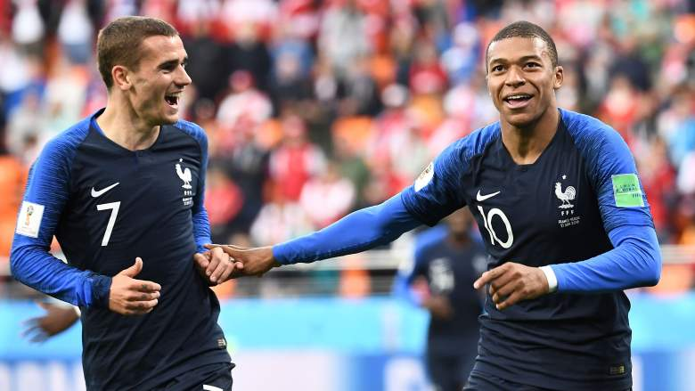 france round of 16, france next game