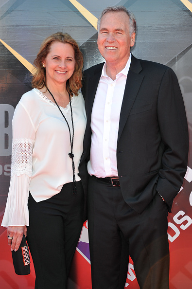 Mike D'Antoni arrives at 2018 NBA Awards Show with his wife Laurel
