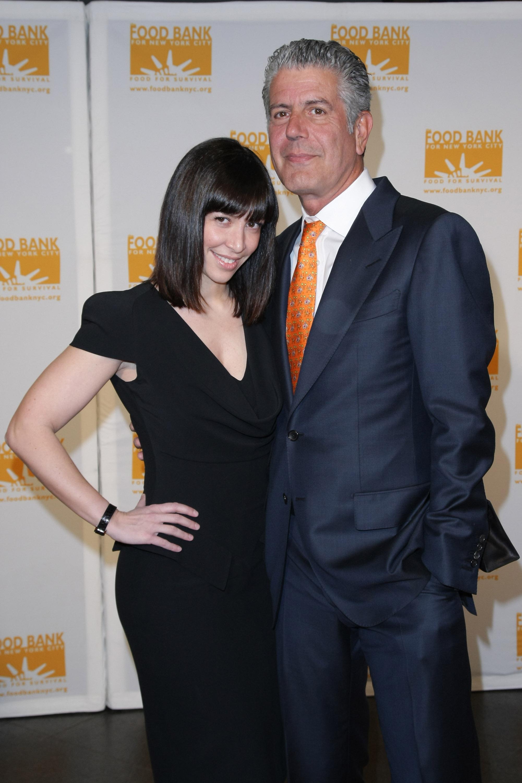 Anthony Bourdain ex wife