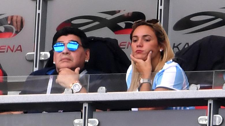 Diego Maradona France match