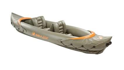 Sevylor inflatable fishing canoe