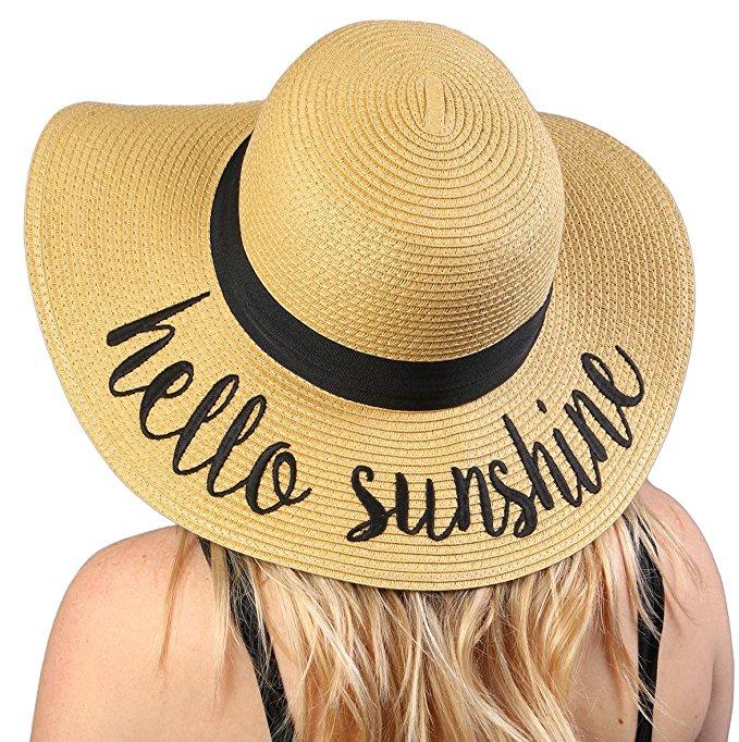 hello sunshine sunhat