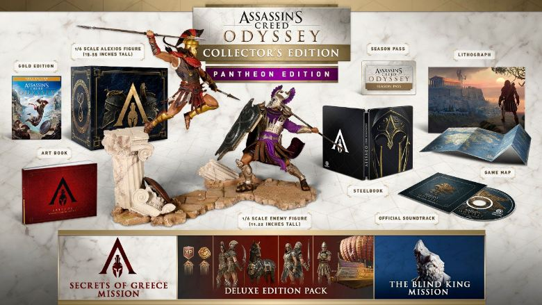 assassins creed odyssey special editions