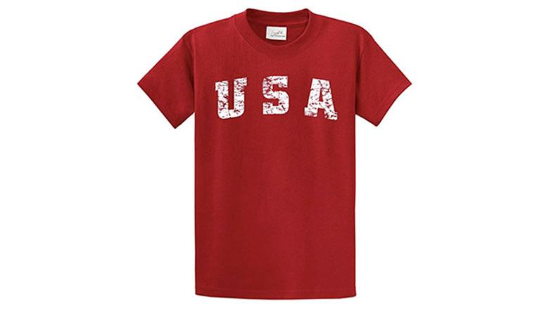 joes usa vintage usa logo t-shirt