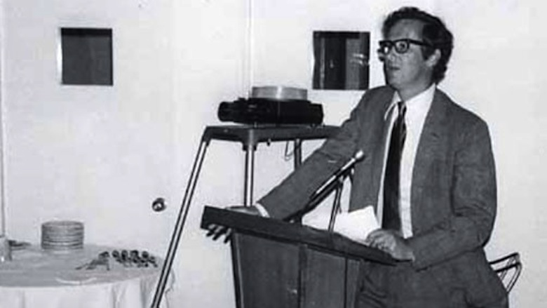 Malcolm H. Kerr speaking.