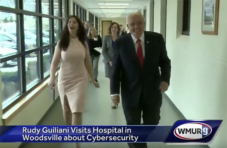 Rudy Giuliani Maria Rosa Ryan