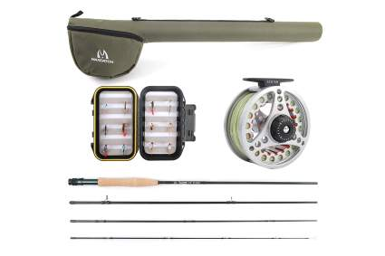 maxcatch fly fishing starter kit