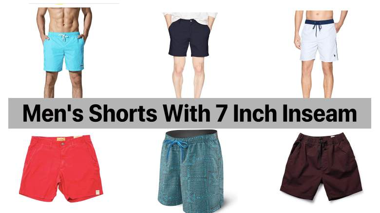 mens shorts with 7 inch inseam