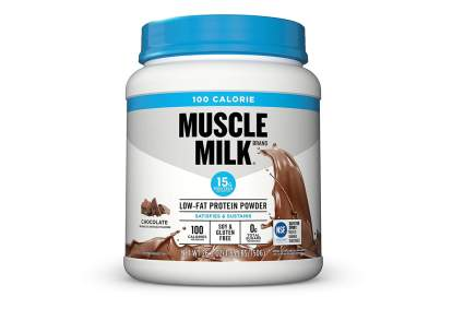 muscle milk 100 calorie protein powder chocolate