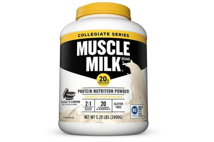 muscle milk cheap protein cookies n creme