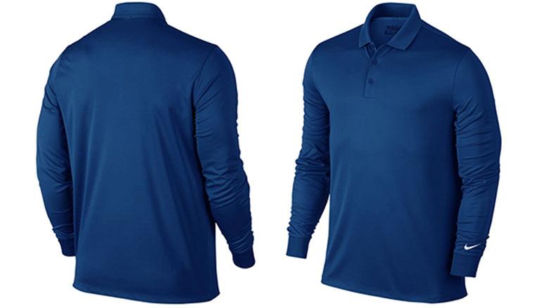 nike golf mens victory long sleeve polo shirt