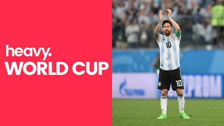 France v Argentina, World Cup 2018