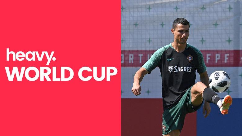 Portugal vs Iran, World Cup 2018