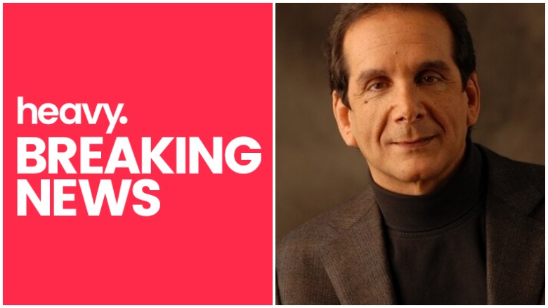 Charles Krauthammer dead