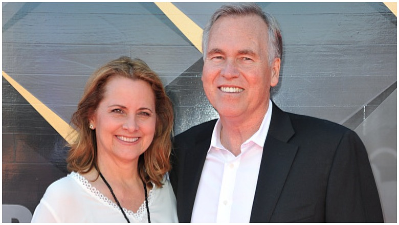 Mike D'Antoni with his wife Laurel