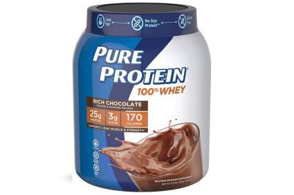 pure protein whey cheap