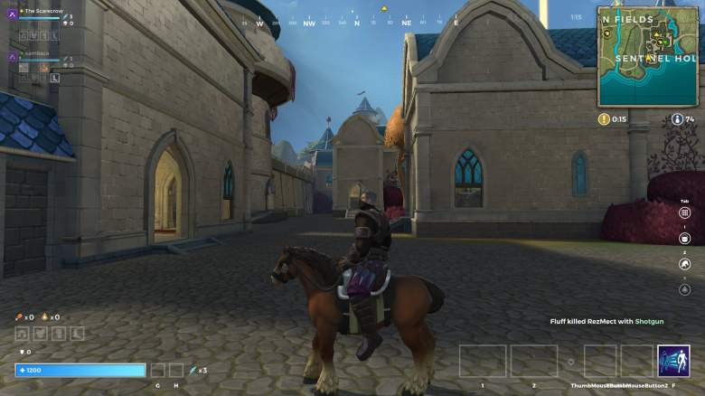 Realm Royale horse