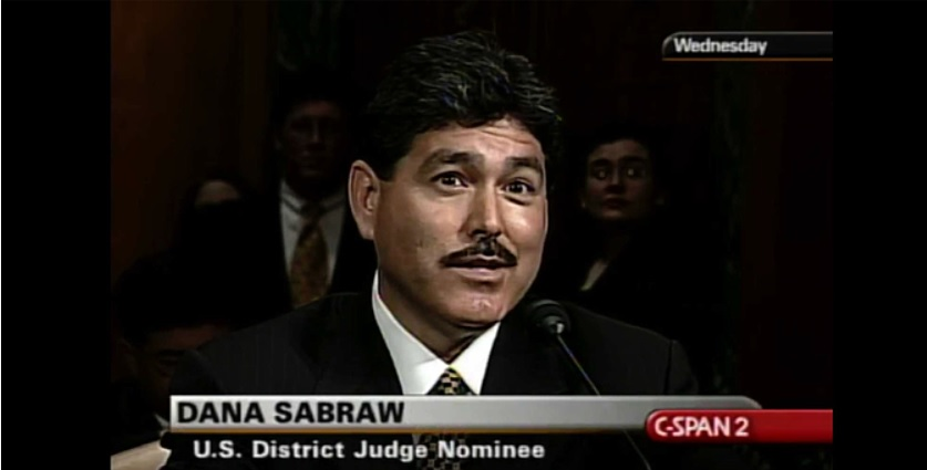 Judge Sabraw at his confirmation hearing