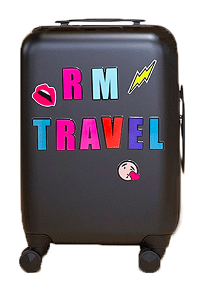 designer smart luggage