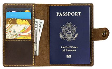 rfid blocking passport cover