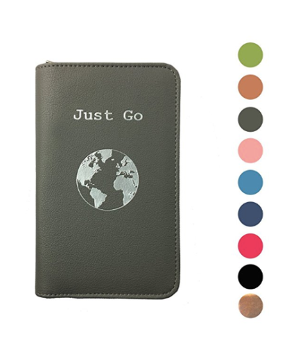 phone charging passport cover