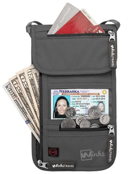 Winks Travel Passport Cover