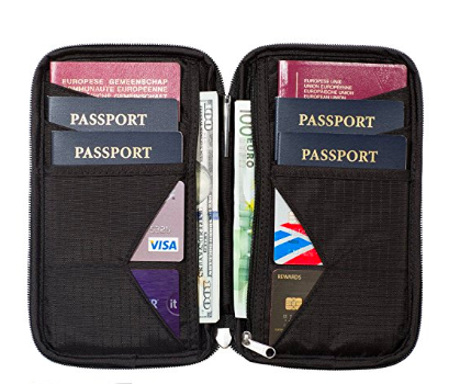 family passport cover