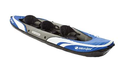 sevylor three person inflatable canoe