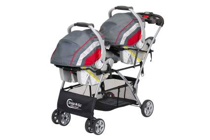 snap and go double stroller