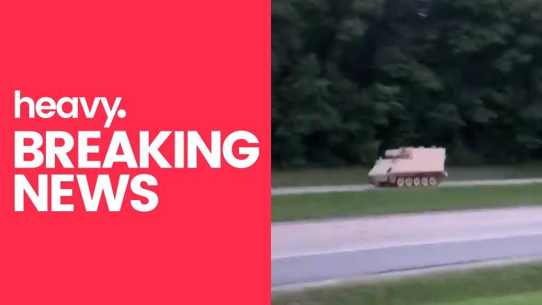 virginia tank chase video