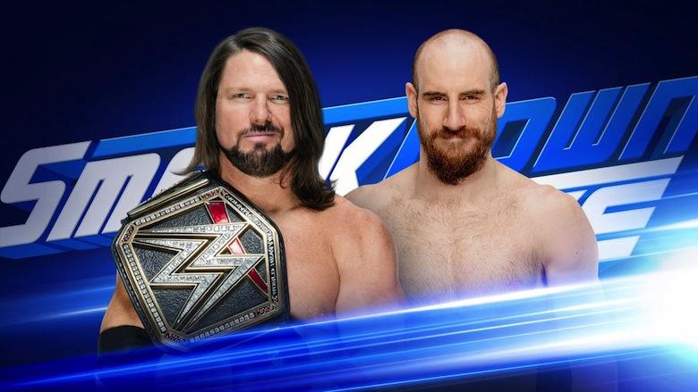 AJ Styles vs. Aiden English