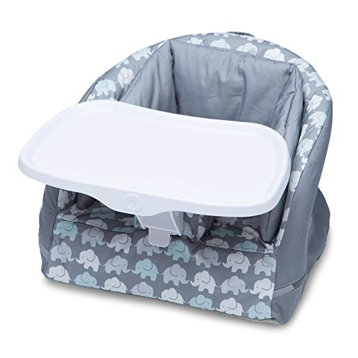 Boppy Baby Chair, Elephant Walk, Gray
