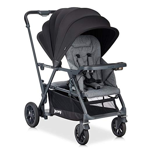 JOOVY Caboose S Standard Baby Strollers, Grey Melange
