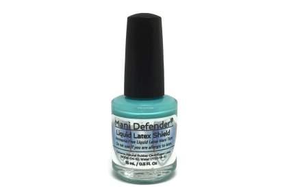Teal nail latex